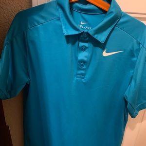 Boys Nike Dri-Fit Polo